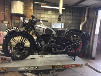 RedLine Cycle | Classic British Motorcycle Service